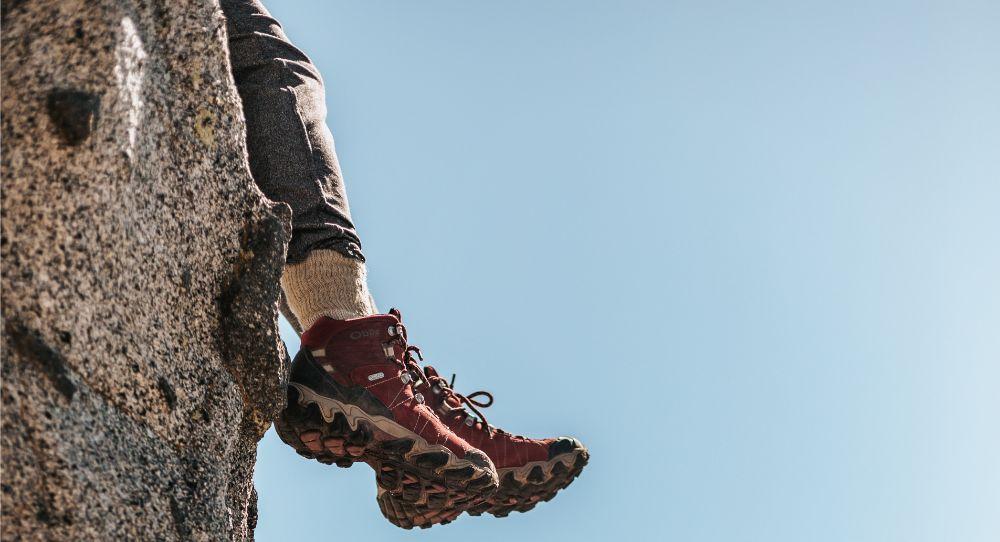 Górskie buty w akcji